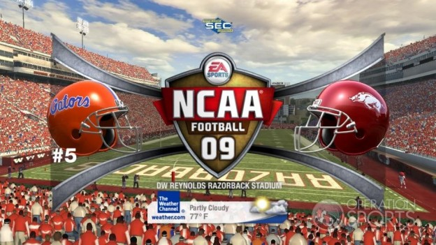 NCAA Football 09 Screenshot #598 for Xbox 360