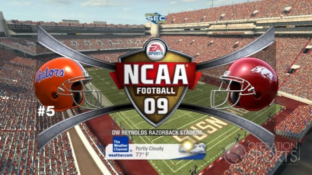 NCAA Football 09 Screenshot #599 for Xbox 360