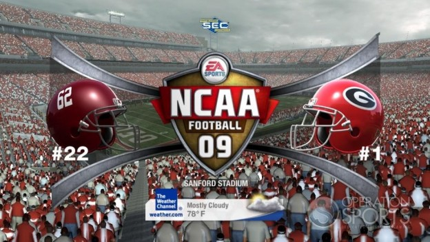 NCAA Football 09 Screenshot #603 for Xbox 360
