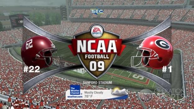 NCAA Football 09 Screenshot #604 for Xbox 360