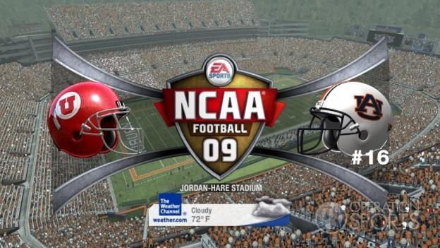 NCAA Football 09 Screenshot #609 for Xbox 360