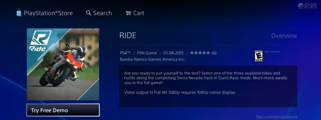 RIDE Screenshot #46 for PS4