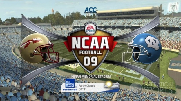 NCAA Football 09 Screenshot #617 for Xbox 360