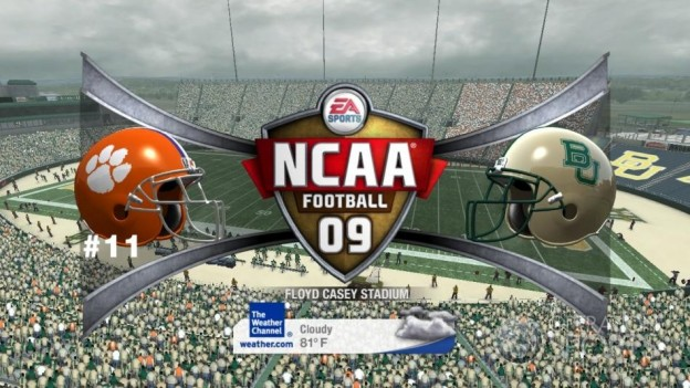 NCAA Football 09 Screenshot #620 for Xbox 360
