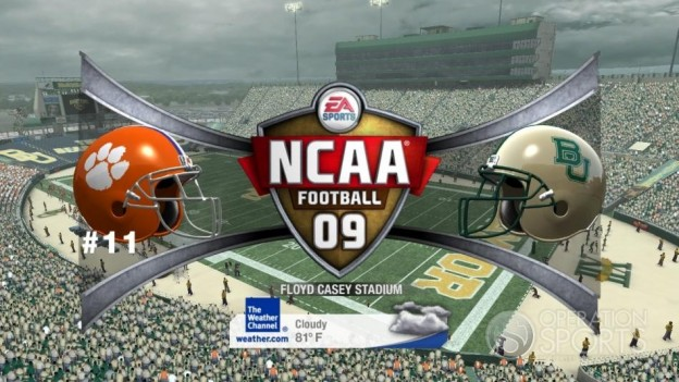 NCAA Football 09 Screenshot #621 for Xbox 360