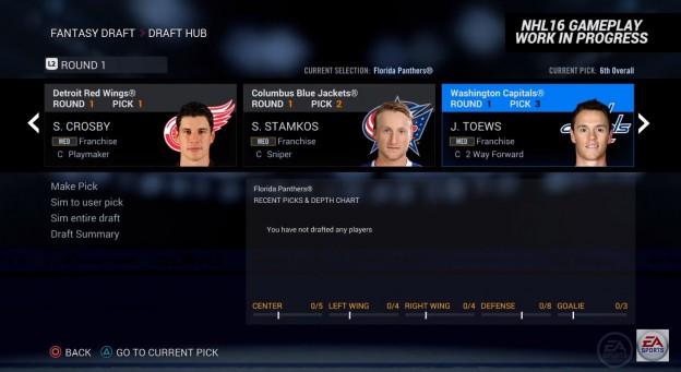 NHL 16 Screenshot #3 for PS4