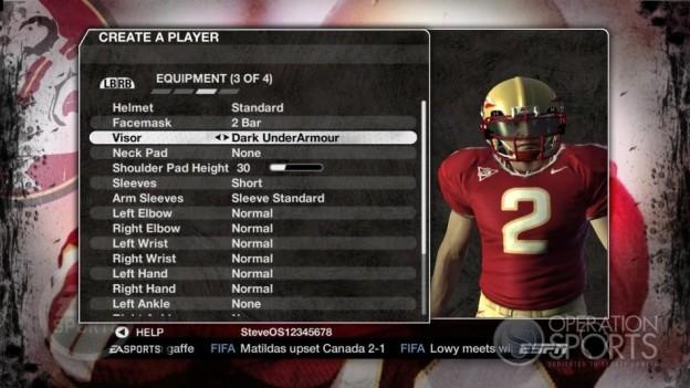 NCAA Football 09 Screenshot #625 for Xbox 360