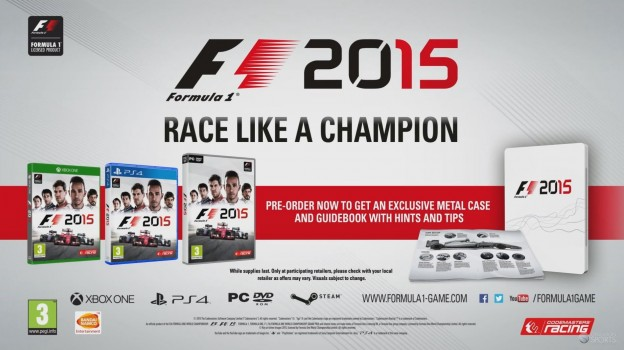 F1 2015 Screenshot #23 for PS4