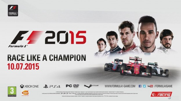 F1 2015 Screenshot #24 for PS4