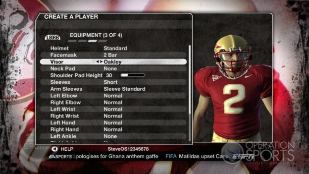 NCAA Football 09 Screenshot #627 for Xbox 360