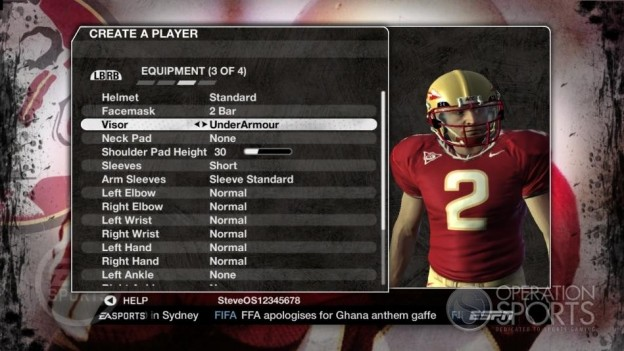 NCAA Football 09 Screenshot #628 for Xbox 360