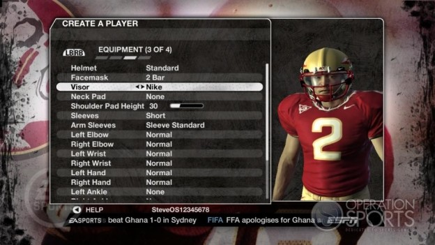 NCAA Football 09 Screenshot #629 for Xbox 360