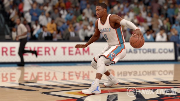 NBA Live 16 Screenshot #1 for PS4
