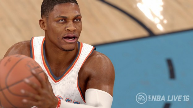 NBA Live 16 Screenshot #2 for PS4