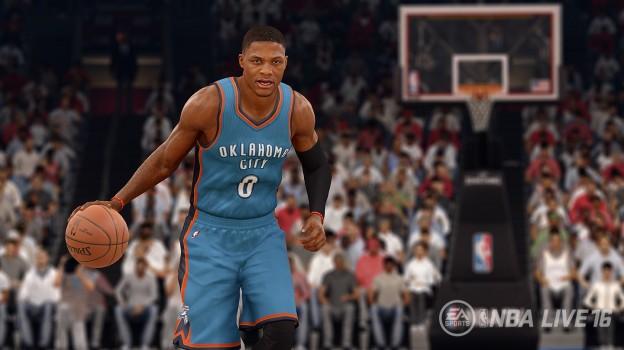 NBA Live 16 Screenshot #4 for PS4