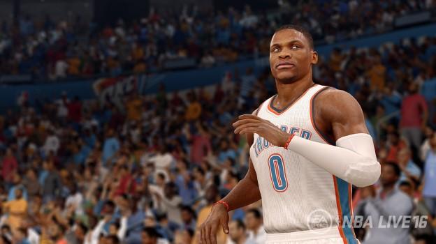 NBA Live 16 Screenshot #7 for PS4