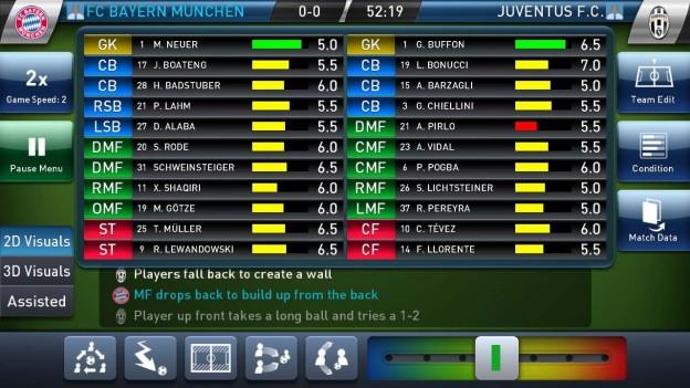 PES Club Manager Screenshot #1 for iOS