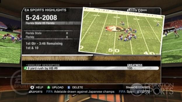 NCAA Football 09 Screenshot #656 for Xbox 360