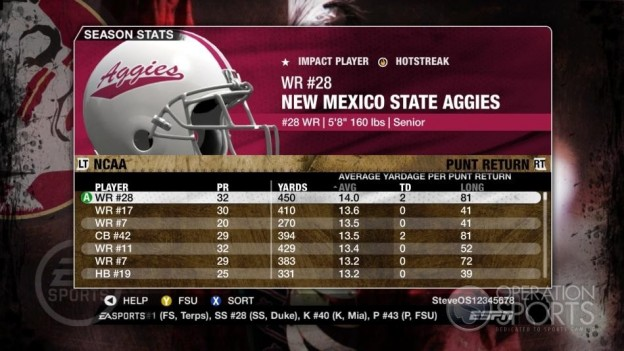 NCAA Football 09 Screenshot #659 for Xbox 360