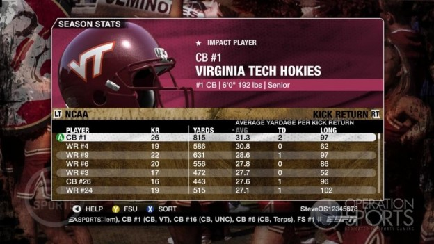 NCAA Football 09 Screenshot #661 for Xbox 360