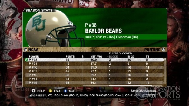 NCAA Football 09 Screenshot #662 for Xbox 360
