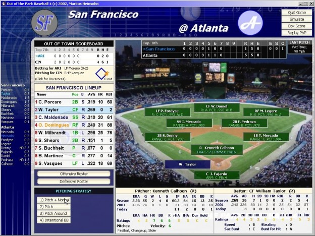 Out of the Park Baseball 4 Screenshot #2 for PC