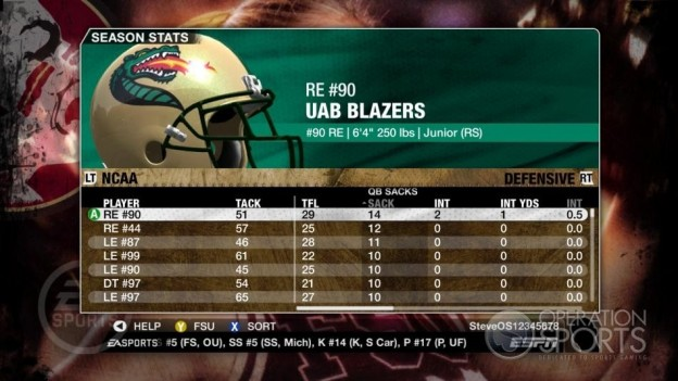 NCAA Football 09 Screenshot #674 for Xbox 360
