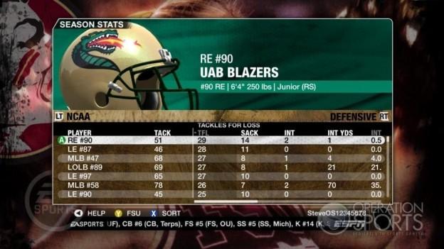 NCAA Football 09 Screenshot #675 for Xbox 360