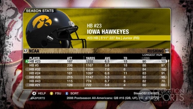 NCAA Football 09 Screenshot #688 for Xbox 360