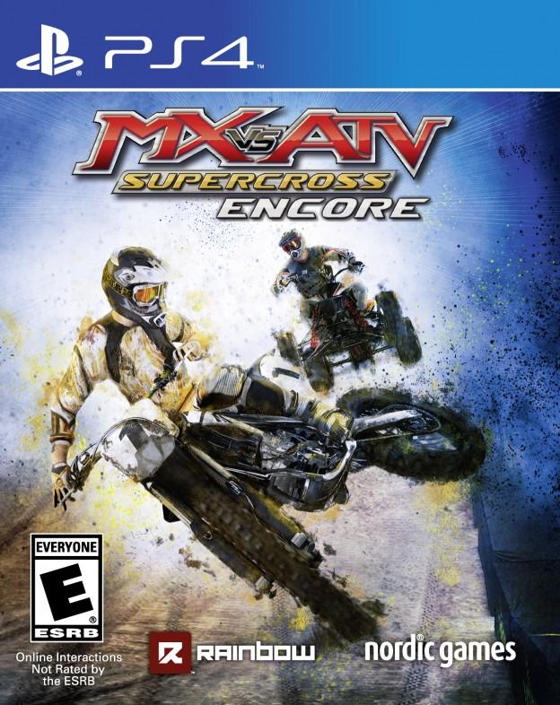 MX vs. ATV Supercross Encore Screenshot #2 for PS4