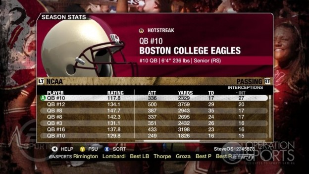 NCAA Football 09 Screenshot #695 for Xbox 360