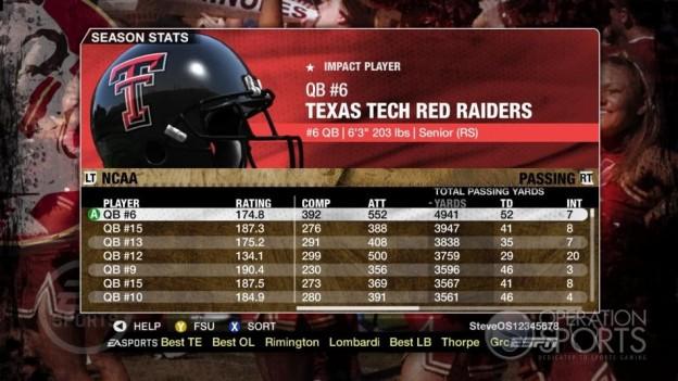 NCAA Football 09 Screenshot #697 for Xbox 360