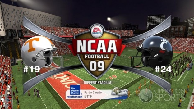 NCAA Football 09 Screenshot #706 for Xbox 360