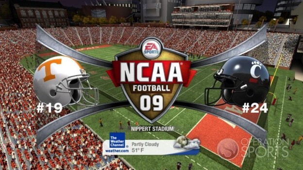 NCAA Football 09 Screenshot #707 for Xbox 360