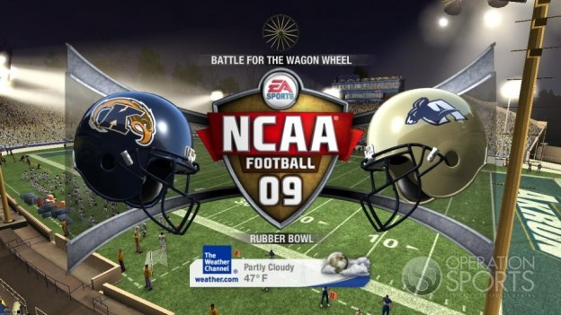 NCAA Football 09 Screenshot #718 for Xbox 360