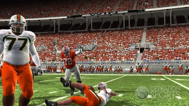 NCAA Football 09 Screenshot #724 for Xbox 360