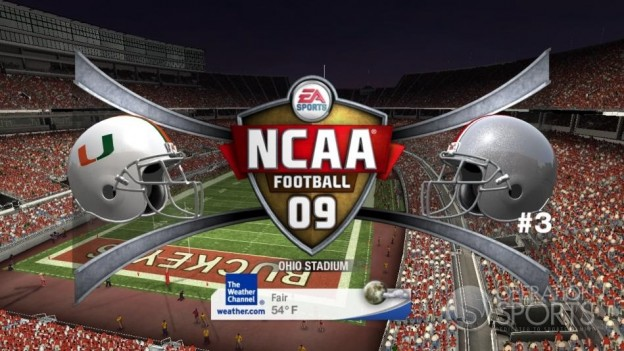 NCAA Football 09 Screenshot #725 for Xbox 360