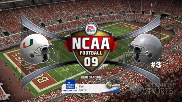 NCAA Football 09 Screenshot #726 for Xbox 360