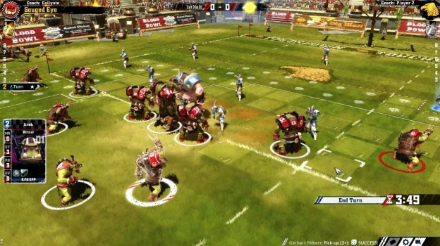 Blood Bowl 2 Screenshot #2 for PS4