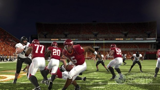 NCAA Football 09 Screenshot #747 for Xbox 360