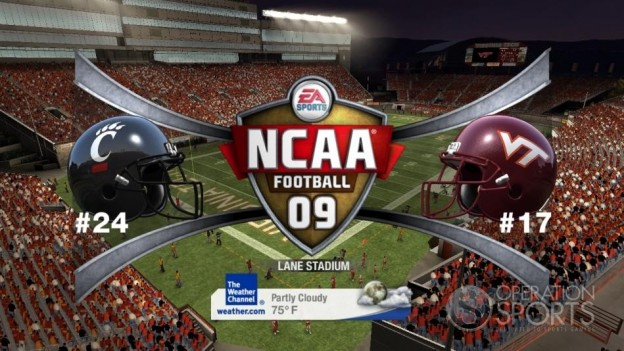 NCAA Football 09 Screenshot #750 for Xbox 360