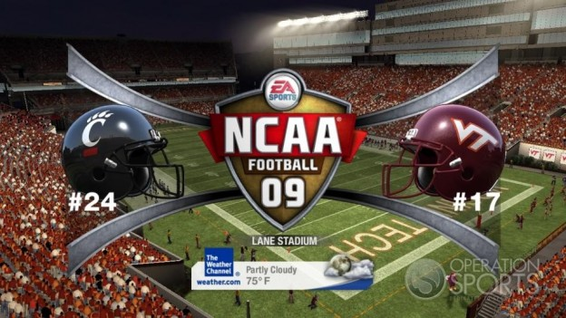 NCAA Football 09 Screenshot #751 for Xbox 360