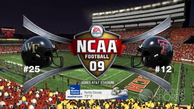 NCAA Football 09 Screenshot #759 for Xbox 360