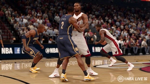 NBA Live 16 Screenshot #50 for PS4