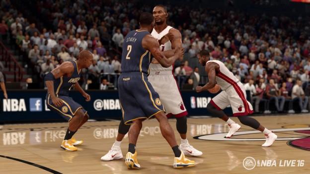 NBA Live 16 Screenshot #38 for Xbox One