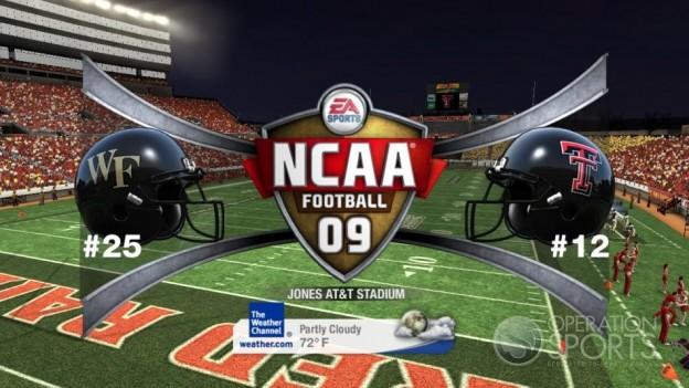 NCAA Football 09 Screenshot #760 for Xbox 360