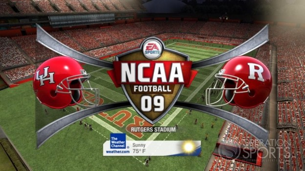 NCAA Football 09 Screenshot #766 for Xbox 360
