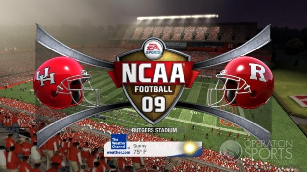 NCAA Football 09 Screenshot #767 for Xbox 360