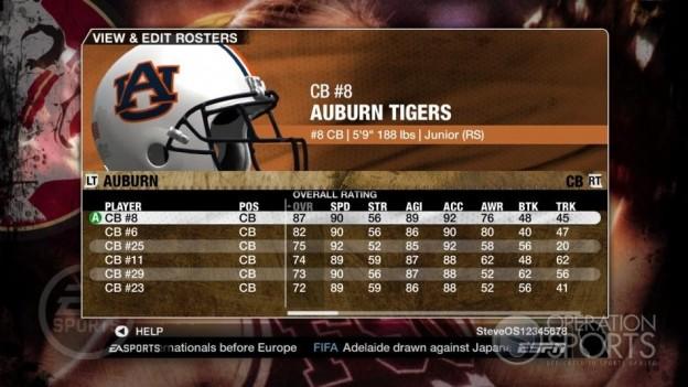NCAA Football 09 Screenshot #778 for Xbox 360