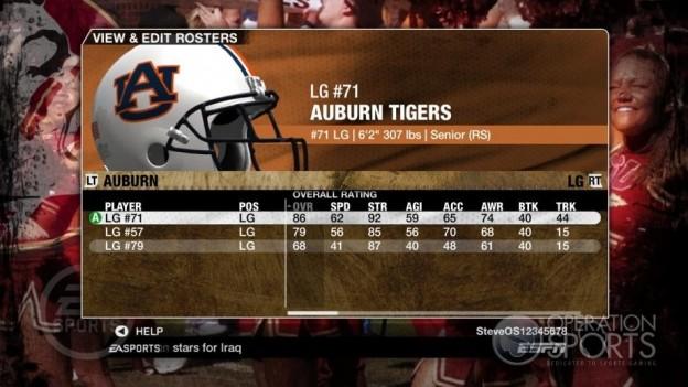 NCAA Football 09 Screenshot #785 for Xbox 360
